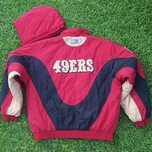 Vintage Reebok San Francisco 49ers Men's Jacket L